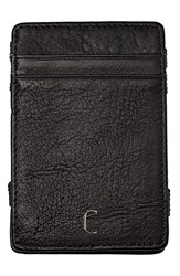 Cathy's Concepts 'Magic' Monogram Leather Wallet Black