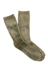 Shimera Yummy Crew Socks Brown