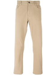 Canali Regular Jeans Nude Neutrals