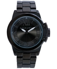 Sean John Men's Gunmetal Tone Bracelet Watch 56X49mm 10021791