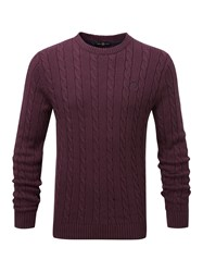 Henri Lloyd Kramer Regular Crew Neck Knit Port