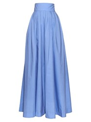 Rosie Assoulin Morning After Pleated Maxi Skirt