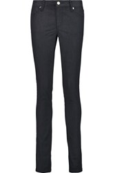 Tory Burch Stretch Denim Leggings Blue