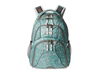High Sierra Swerve Backpack Mint Leopard Ash White Backpack Bags Blue
