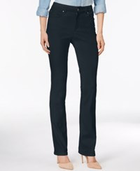 Charter Club Lexington Colored Wash Straight Leg Jeans Only At Macy's Empress Teal