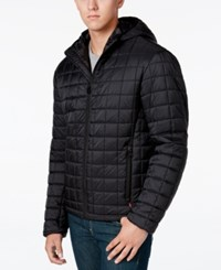 Levi's Men's Nylon Quilted Jacket Black