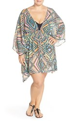 Plus Size Women's Jessica Simpson 'Venice Beach' Cover Up