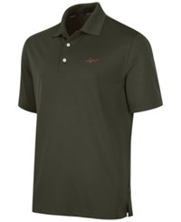 Greg Norman For Tasso Elba Big And Tall 5 Iron Performance Golf Polo Ultra Olive