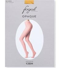 Fogal Opaque Tights Gold