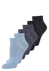S.Oliver 6 Pack Socks Smoked Blue Stone Navy