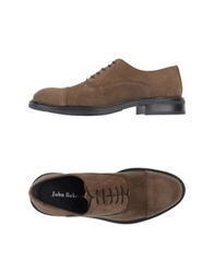 John Bakery Lace Up Shoes Dark Brown