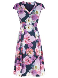 Fenn Wright Manson Rubens Print Dress Multi
