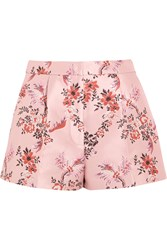 Stella Mccartney Floral Jacquard Shorts Blush