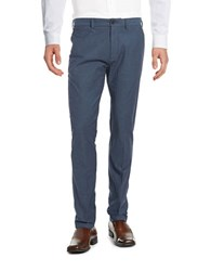 Brooks Brothers Cotton Knit Pants Blue