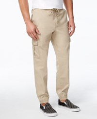 American Rag Men's Slim Fit Cargo Joggers Only At Macy's Nutwood