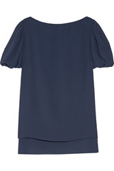 See By Chloe Crepe Top Blue
