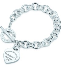 Tiffany And Co. Return To Tiffanytm Heart Tag Toggle Bracelet In Sterling Silver