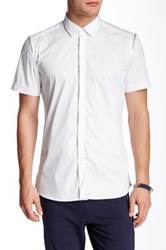 Antony Morato Zipper Shoulder American Fit Shirt White