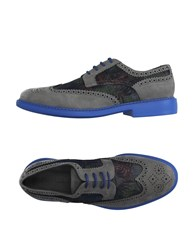 Manuel Ritz Footwear Lace Up Shoes Men Grey