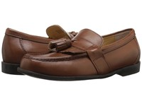 Nunn Bush Keaton Moc Toe Kilty Tassle Loafer Saddle Tan Men's Slip On Dress Shoes Brown