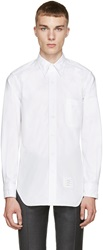 Thom Browne White Oxford Turtle Shirt