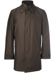 Fay Classic Raincoat Brown