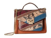 Sam Edelman Kylie Mini Crossbody Cognac Multi Cross Body Handbags Tan