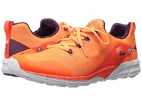 Reebok Zpump Fusion 2.0 Electric Peach Energy Orange Atom Red White Celestial Orchid Women's Running Shoes