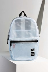 Stussy Clear Tarpaulin Lawson Backpack White