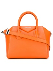 Givenchy Small 'Antigona' Tote Yellow And Orange