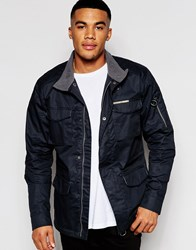 Ringspun Chuckle Field Jacket Black
