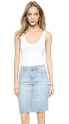 Splendid Layers Tank Bodysuit White
