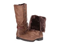 Blowfish Tonya Shr Whiskey Old Ranger Whiskey Dyecut Pu Women's Pull On Boots Brown