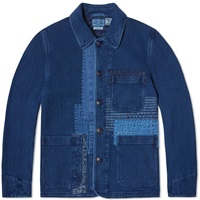 Blue Blue Japan Patchwork Coverall Jacket One