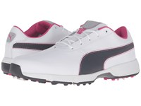 Puma Ignite Drive White Periscope Beetroot Purple Men's Golf Shoes