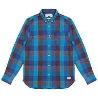 Penfield Gilcrest Check Shirt Blue Red