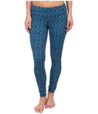 Prana Misty Legging Indigo Baleen Women's Workout Blue