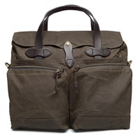 Filson Otter Green Tin Cloth 24 Hour Briefcase