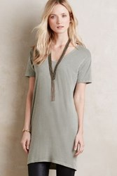 Anthropologie Jana Tunic Tee Moss