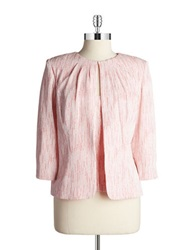 Alex Evenings 2 Piece Cardigan Set Shell Pink