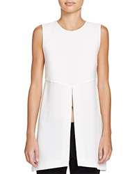 Elizabeth And James Didi Split Tunic Ivory