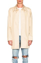 Stussy Long Coach Jacket In Neutrals