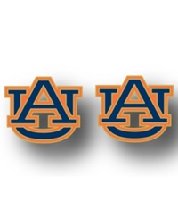 Aminco Auburn Tigers Logo Post Earrings Team Color