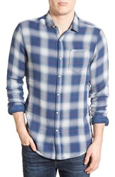 Men's Jeremiah 'Brodie' Regular Fit Long Sleeve Reversible Plaid Sport Shirt