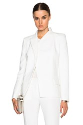 Barbara Bui Top Button New Jacket In White