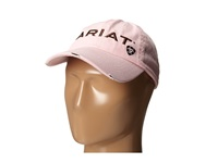 Ariat Logo Shield Baseball Cap Pink Baseball Caps