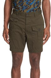 Men's Dsquared2 Military Cargo Shorts