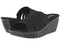 Skechers Parallel Milk Honey Black Women's Sandals