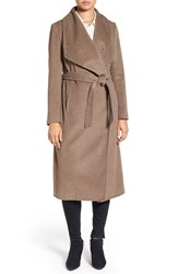 Cole Haan Signature Women's Drape Front Wrap Coat Portobello