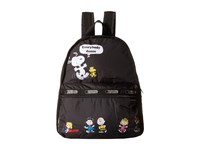 Le Sport Sac Basic Backpack Bag Friend Parade Backpack Bags Black